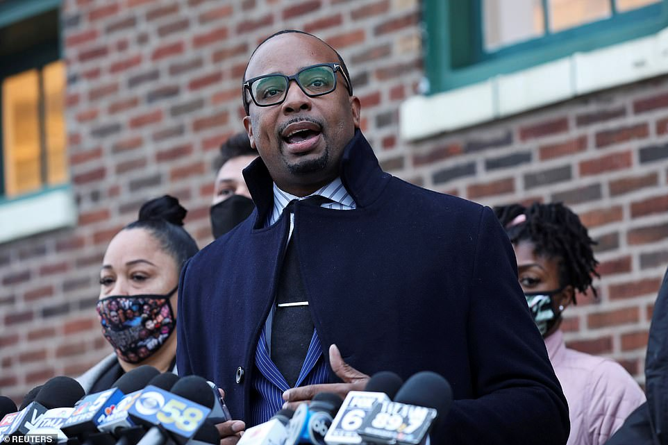 B'Ivory LaMarr, an attorney for the family, described the decision as 'deeply disturbing'. He said the 20-second bystander video released online back in August should have been enough to bring charges against the officer