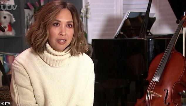 Myleene Klass announces her free music lessons will recommence for Lockdown 3