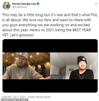 Florida Georgia Line reassures fans they're 'not breaking up' just 'venturing out' on solo projects