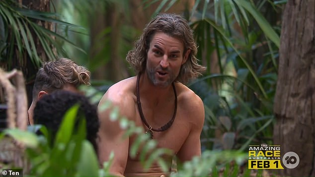 I'm A Celebrity's Ash Williams reveals he used to let men suck his nipples for