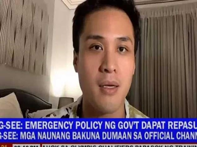 Suspect Gregorio de Guzman, pictured above, has insisted he is innocent, claiming that he and the other men charged are all gay