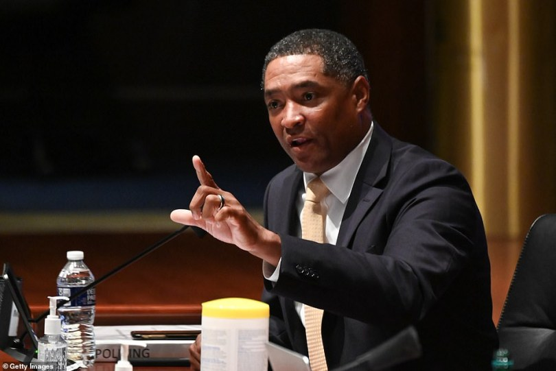 'You don't argue with fools,' Representative Cedric Richmond, a Democrat from Louisiana is urging colleagues