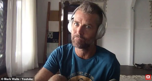 In his corner: Disgraced chef Pete Evans (pictured) has given his former MKR co-star Colin Fassnidge the tick of approval after he replaced him on I'm a Celebrity... Get Me Out of Here!