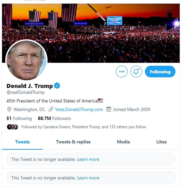 Donald Trump temporarily BANNED from Twitter AND Facebook