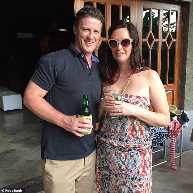 Tigers coach Damien Hardwick and his wife Danielle Hardwick arebelieved to have separated last month
