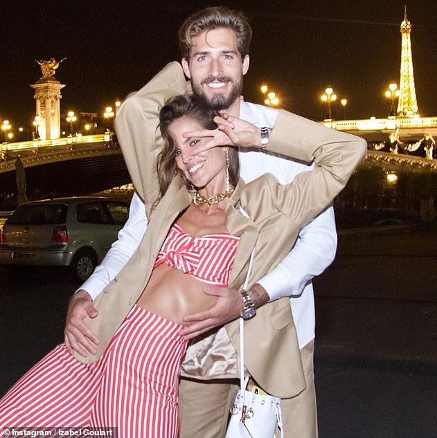 Milestone! The fashion star and her German footballer fiancé Kevin Trapp celebrated their fifth anniversary in October