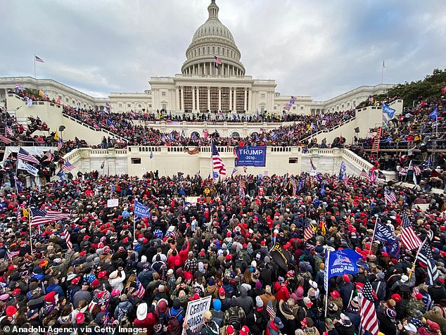 A pro-Trump mob stormed the inauguration stands in front of the Capitol last week in the same area the inauguration ceremony will take place