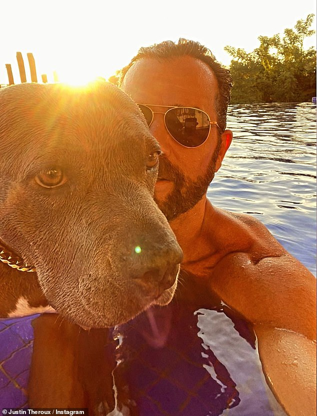 Strong social media presence:Judging from most of Justin's recent sightings as well as his Instagram, his most prized relationship is with his gorgeous gray and white pitbull Kuma