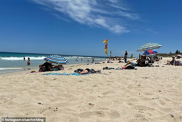 Perth is tipped to experience four days in the 30s with tempratures to exceed 18.3 degrees over the January average