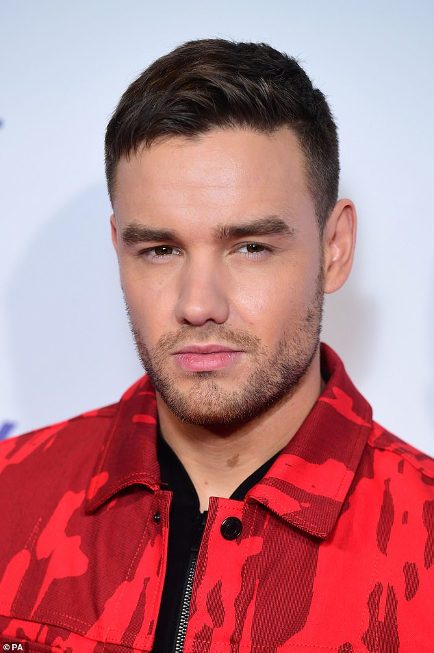 Slick: Liam pictured in December 2019