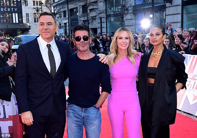 Plans: ITV bosses now face the challenge of replacing BGT in the TV schedule, with the show usually airing sometime in April after auditions are filmed in January and February