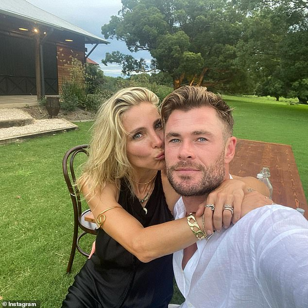 Bliss:Chris and Elsa Pataky recently celebrated a decade of marriage
