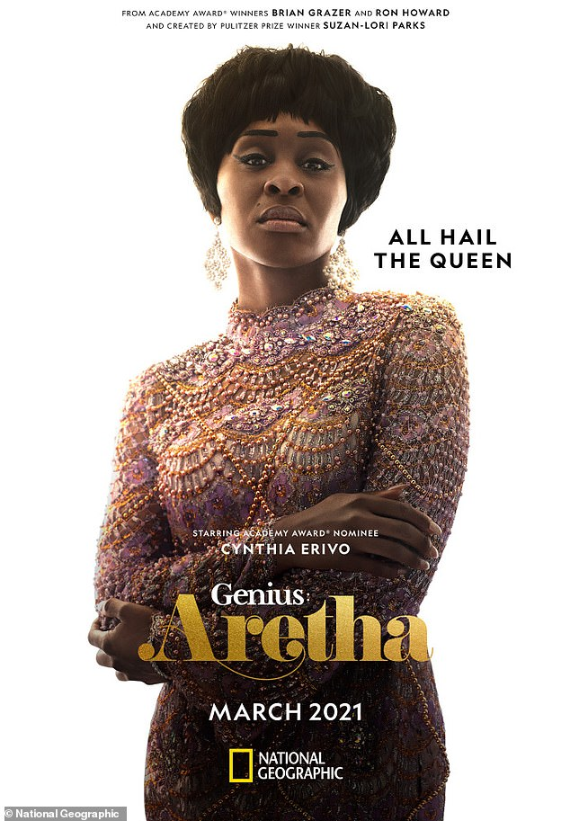 Happy birthday:Cynthia Erivo celebrated on Instagram by sharing a breathtaking poster of herself as Aretha Franklin on the upcoming season of Genius
