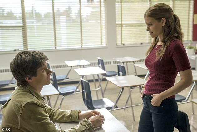 Controversial series: She stars as Claire, a teacher at a Texas high school who begins an illicit affair with her student Eric (Nick Robinson)