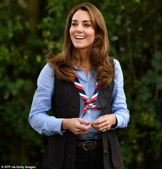 Kate Middleton Roasted Marshmallow During Engagement