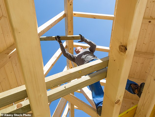 Going up: Grafton should win out as families forced to stay indoors improve their homes and building suppliers benefit