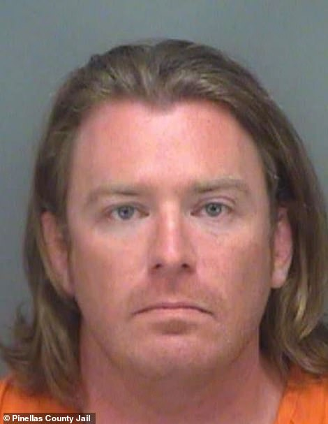 Adam Johnson, 36, was arrested by federal marshals in Florida on Friday and is currently being held at the Pinellas County Jail, according to arrest records.The Parrish, Florida, resident's charges are pending