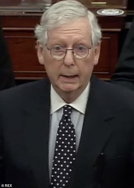Senate Majority Leader Mitch McConnell told his Republican colleagues in the upper chamber that the earliest a second impeachment trial of President Trump would begin is January 20th, the day President-elect Joe Biden will be sworn into office
