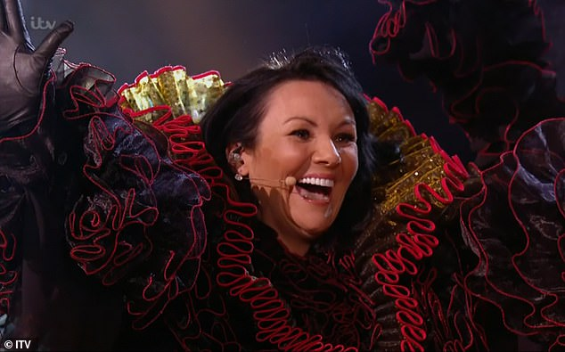 The Masked Singer UK: Martine McCutcheon is revealed to be Swan