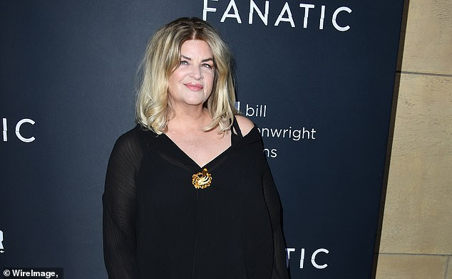 Actress Kirstie Alley, an outspoken conservative, compared Twitter's crackdown to 'slavery'