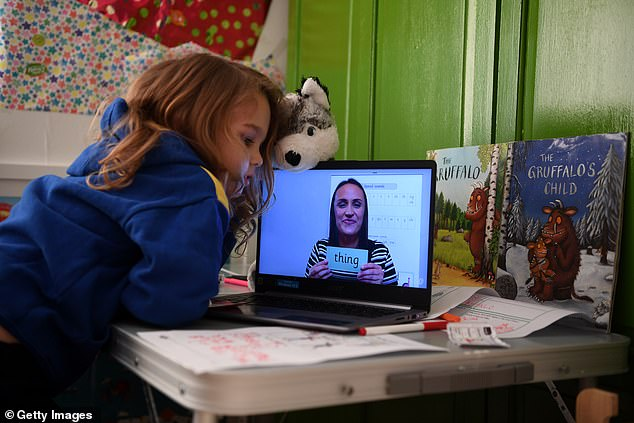 Most independent schools and top-performing state schools have rolled out full days of live lessons via Zoom and other video platforms since the new national lockdown came into force