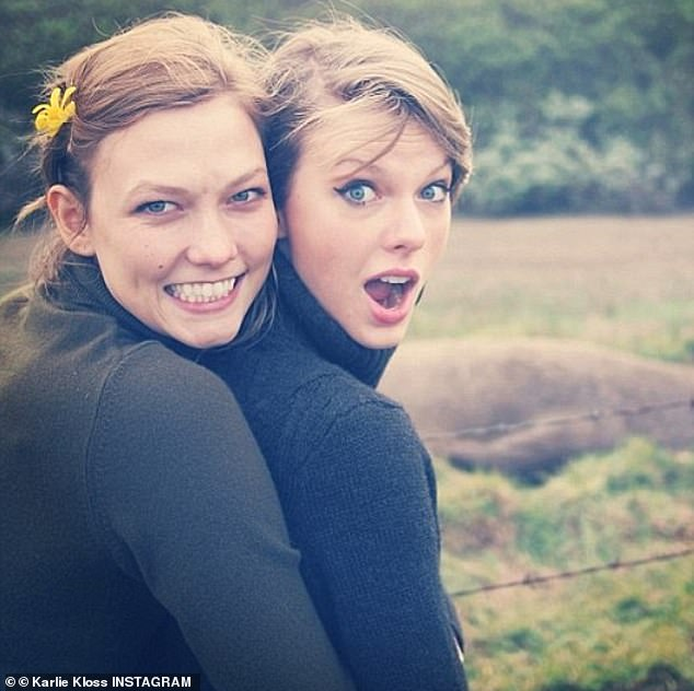 Hidden message: Swifties speculated that the latter was about pal Karlie Kloss, dissecting the lyric: 'When the words of a sister come back in whispers / That prove she was not in fact who she seemed / Not a twin from your dreams / She's a crook who was caught'