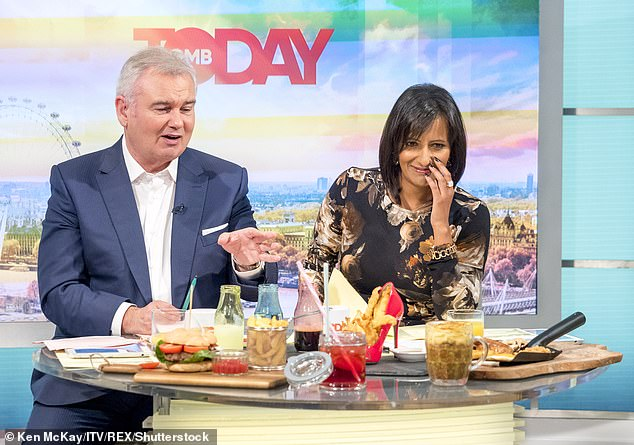 So following negotiations with ITV bosses, she is expected to sign a deal said to be as being 'as good as a golden handcuffs' contract, allowing her to present various programmes across the channel and stand in more regularly for Piers Morgan and Susanna Reid on GMB