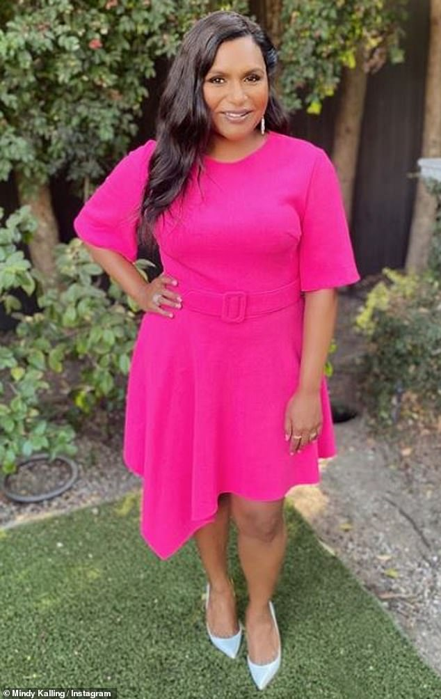 Creative process: Mindy Kaling said it's been 'really fun to imagine' Reese Witherspoon's iconic character Elle Woods at age 40, as she recently discussed penning the script for Legally Blonde 3