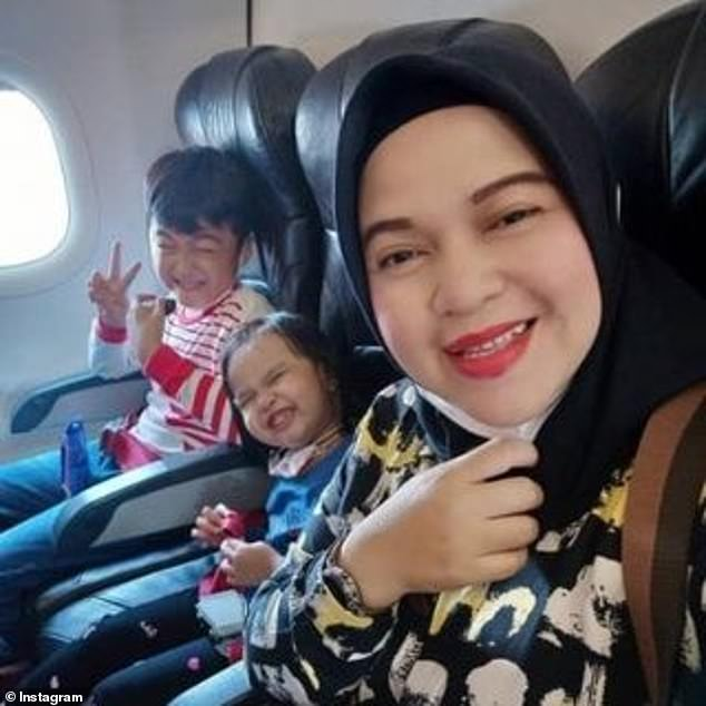 Heartbreaking final message from mother and her children as they boarded doomed Indonesian plane