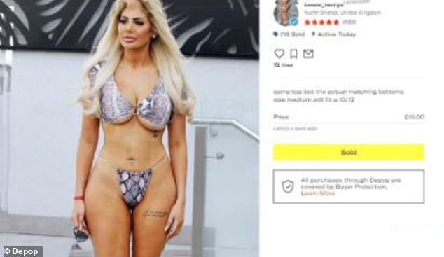 Sold!Depop is a fashion marketplace app which encourages its users to buy and sell clothing to make fashion 'more inclusive, diverse and less wasteful'