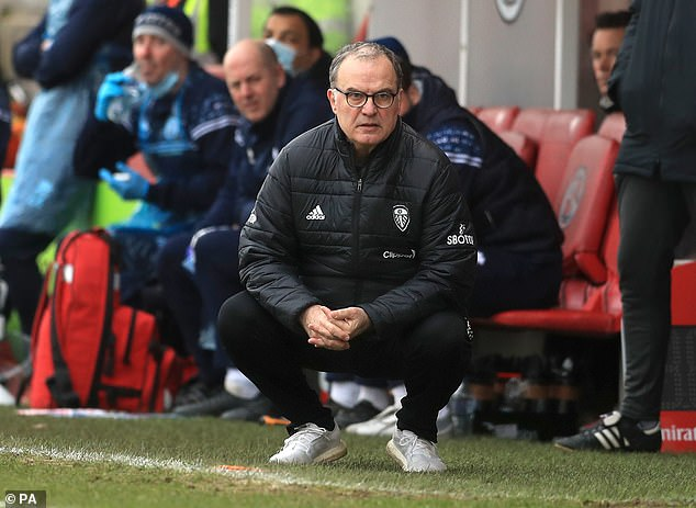 Marcelo Bielsa's (above) side could be stunned by the former TOWIE actor on Sunday