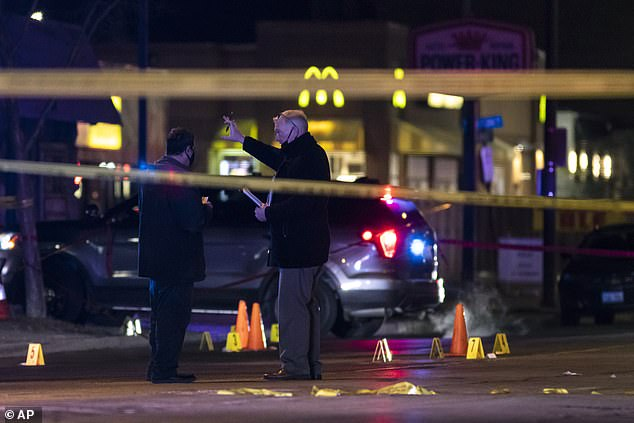 Nightengale also wounded three and each of those people are in critical condition
