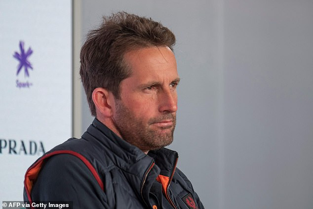Ben Ainslie's Ineos team is against her.  They have technical problems with canceled regattas