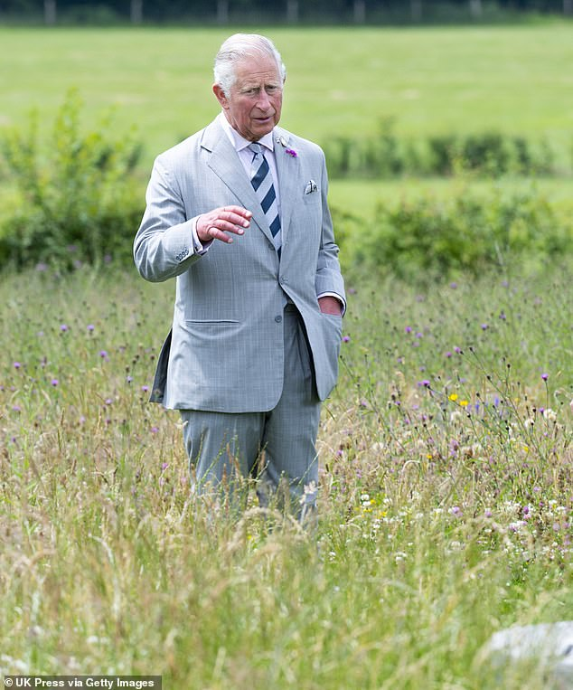 The Prince of Wales will today launch an ambitious £7.3billion recovery plan to right a string of 'broken promises' over the environment