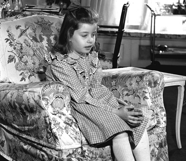 """One of the girls, Suzy Lusk (pictured above on the show as a child) refused to participate in the latest installment.  Apted resorted to borrowing a phone and ringing it, """"so she thought it was someone else.  Then I said it was me, and she put the phone down '"""