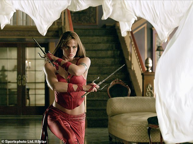 Jen as Elektra: The director didn't comment on whether or not he would want Jennifer Garner to return as Elektra or not