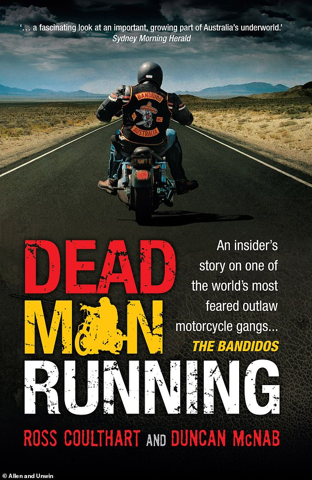 Duncan McNab, a veteran crime reporter who penned a book about the Bandidos in 2008, (pictured) gave evidence at Mr Utah's asylum hearing. 'He was bloody lucky to get away with his life,' the author said