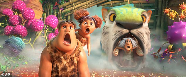 Animated feature The Croods: The New Age remained in second place in its seventh weekend, pulling in an additional $1.8 million for has a total domestic gross of $36.9 million