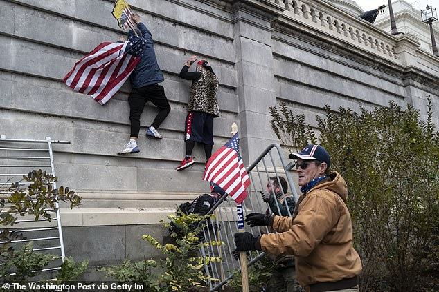 They stormed the U.S. Capitol as lawmakers certify the victory of President-elect Joe Biden.  After forcing their way inside, the violent mob ransacked the building and sent terrified staff and lawmakers into hiding.  Five people, including a Capitol policeman, have died