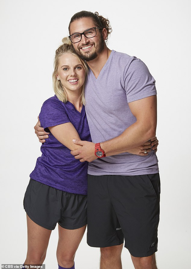 Reality world: The couple also appeared onseason 31 of The Amazing Race in 2018