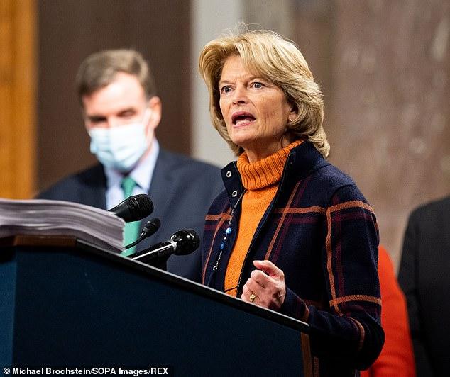 Lisa Murkowski, senator for Alaska, has said she is considering quitting the Republicans