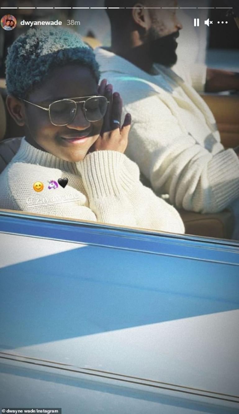 Gabrielle Union Surprises Dwyane Wade With A 1988 Mercedes-Benz