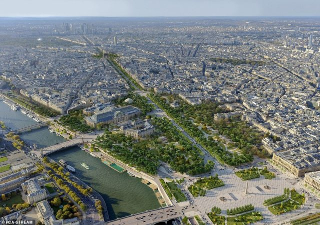 The Champs-Elysees committee has been pushing for a redesign of the iconic street and its surroundings since 2018