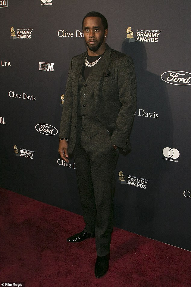 Break in: Sean 'Diddy' Combs's house in Toluca Lake, Los Angeles, has reportedly been targeted by burglars. Diddy, 51, will have to search the home to see if anything is missing
