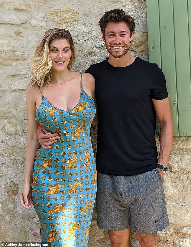 'I was stubborn': Ashley is grateful that her relationship with Tom has grown stronger as a result of lockdown and she's finally been able to shake her fears of living with a partner