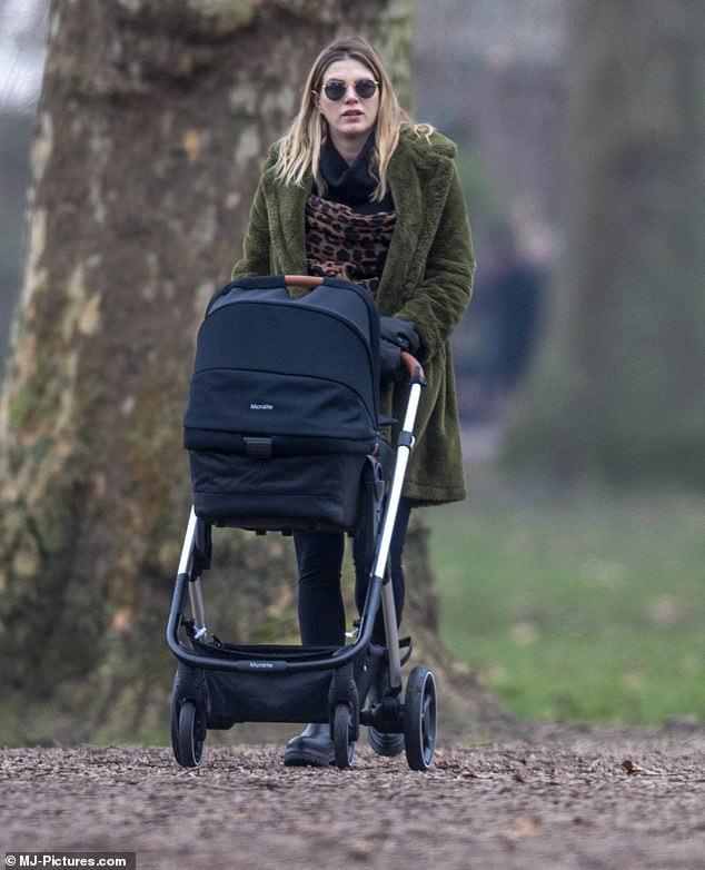 The star told MailOnline she feared losing her identity when she became a mother, after spending years living in London as a single woman and prioritising her career