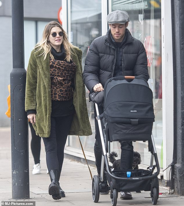 Happy news: The reality star, 33, previously revealed on social media, that her baby's due date was January 3