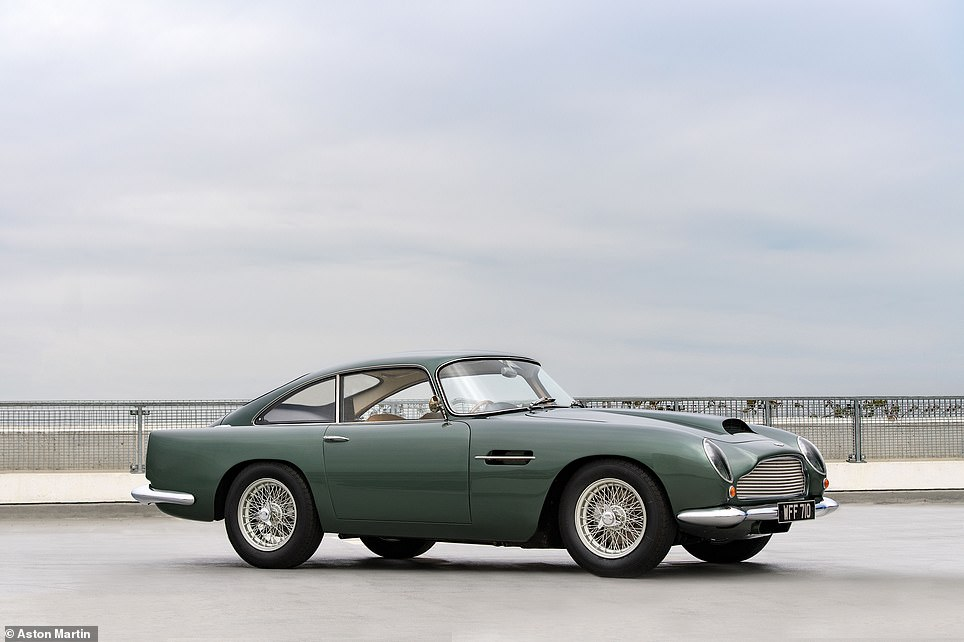 Here's how a pristine 1961 Aston Martin DB4GT should look