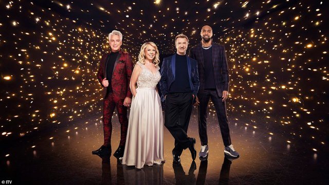 Judging panel: Torvill and Dean, John Barrowman and Ashley Banjo will all resume their roles as judges