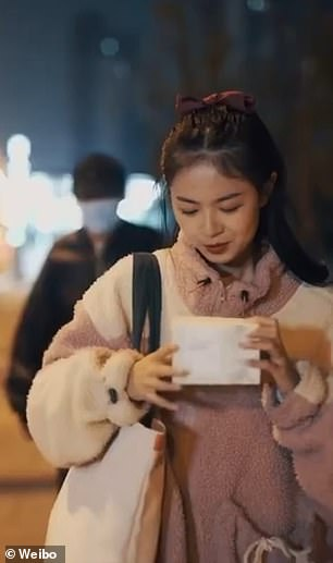 Chinese firm is accused of 'insulting women' over controversial advert for make-up wipes